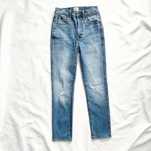 J.Crew High Rise Vintage Straight Leg Jeans